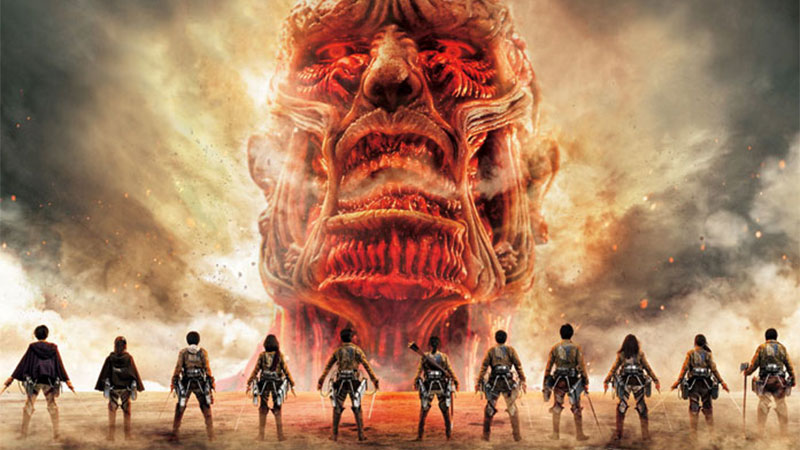Attack of Titan live action