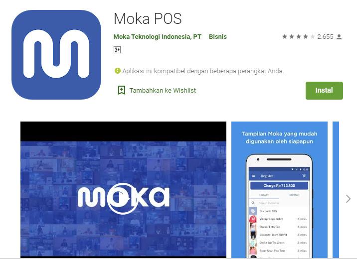 Moka POS Play Store
