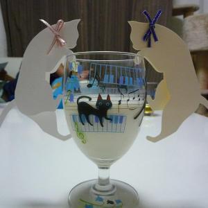 結婚式も猫色に染めちゃえ!シンプルで可愛い猫の席札で、猫好きの友達にも喜んでもらおう!