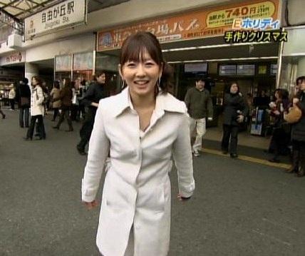 モヤさまでロケにいった駅名も全然出てこない狩野アナ(画像引用:http://ubuchan.img.jugem.jp/20091218_1061998.jpg)