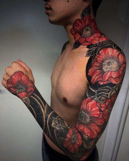 バダサイの刺青