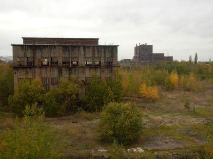 Blick auf Kraftwerkhalle