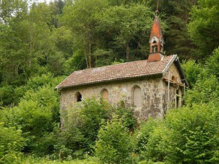 Die Kapelle von Bad Boll - das letzte, noch vorhandene Gebäude des Ortes