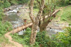 In der Nähe von Moshi, machen wir einen Spaziergang zum Weru Weru River