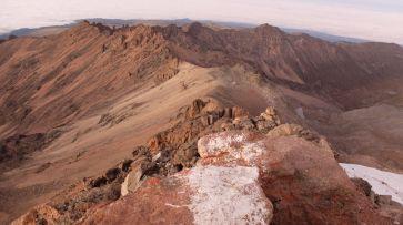 Blick auf die Top Hut / Austrian Hut, 4800 m