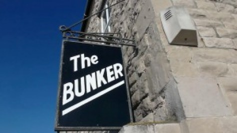 And our home for the week, The Bunker in Portland