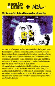 Brisas do Lis Night Run! @ Praça Rodrigues Lobo   Leiria   Leiria   Portugal
