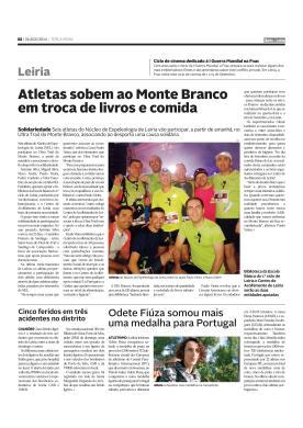 26 Agosto 2014 - Diário de Leiria