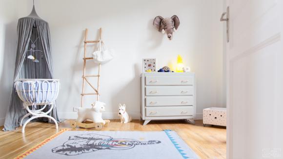 Inspiration cocooning soft pour la chambre de bébé
