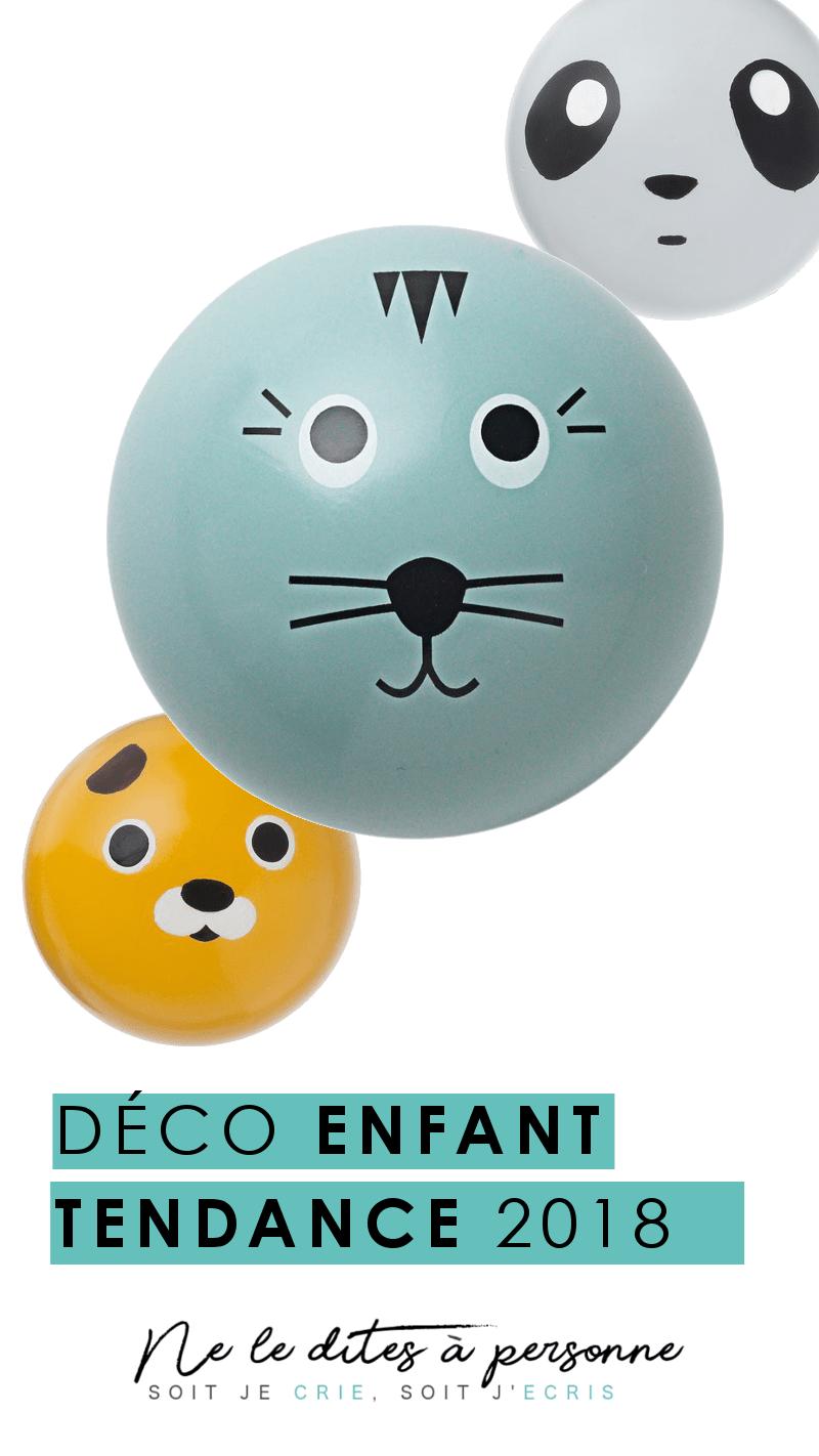 Deco enfant tendance - Selection decoration tendance 2018 - Article Wishlist Deco sur le Blog Ne le dites a personne