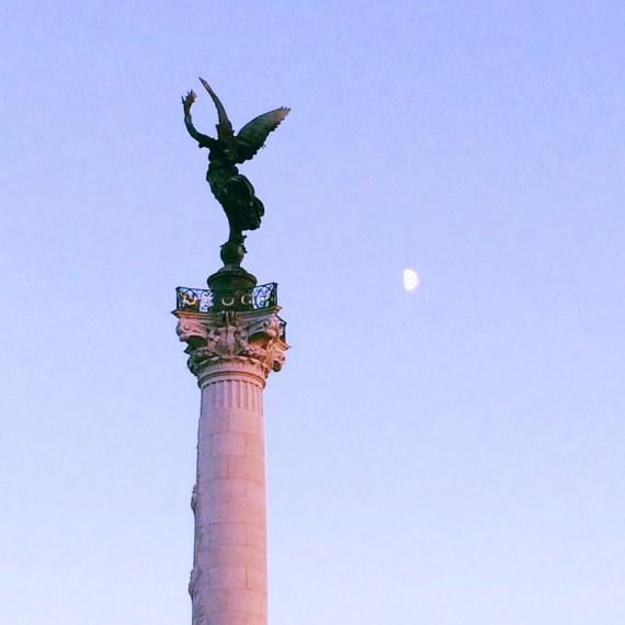 Fleche Genie de la liberte monument aux girondins place des quinconces - City Guide Bordeaux - Blog Bordeaux Ne le dites a Personne #Bordeaux #CityguideBordeaux #Quinconcess