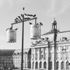 Place de la Bourse retro - City Guide Bordeaux - Blog Bordeaux Ne le dites a Personne #Bordeaux #CityGuideBordeaux #NoiretBlanc