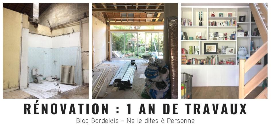 rénovation échoppe : 1 an de travaux - blog bordeaux ne le dites à