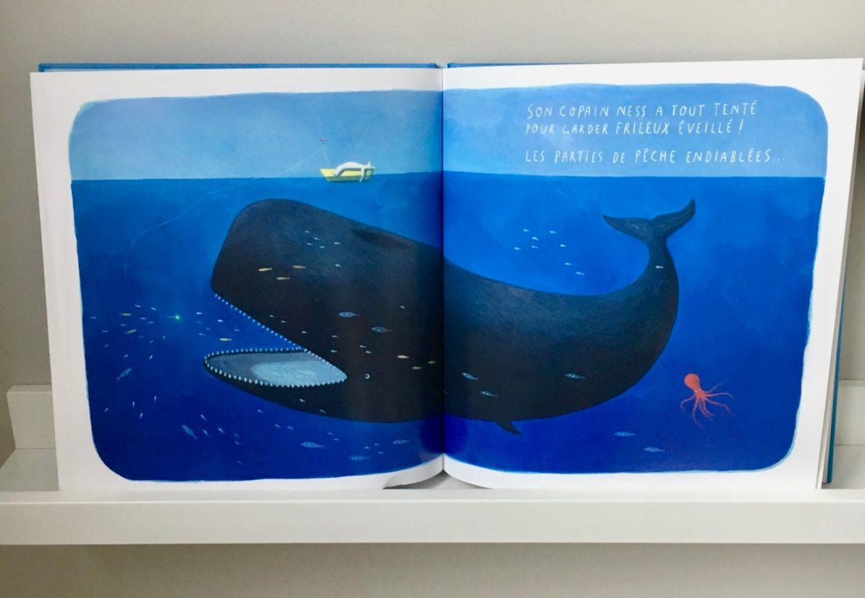 Pêche baleine - Frlieux lours qui naimait pas lhiver - 2 livres enfants aux belles images - Blog maman ne le dites a personne #albumenfant #albumjeunesse #livreenfant #bellesimages #blogmaman #livresenfant #lectureenfant #neleditesapersonne
