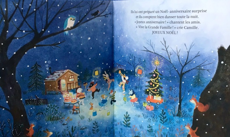 Le Noel de la grande famille - Beaux livres jeunesse pour noel - Blog Maman Ne le dites a Personne - #livreenfant #albumjeunesse #blogenfant #blogmaman #lelapindevelours #lenoeldelagrandefamille #Livrenoel #noel #neleditesapersonne