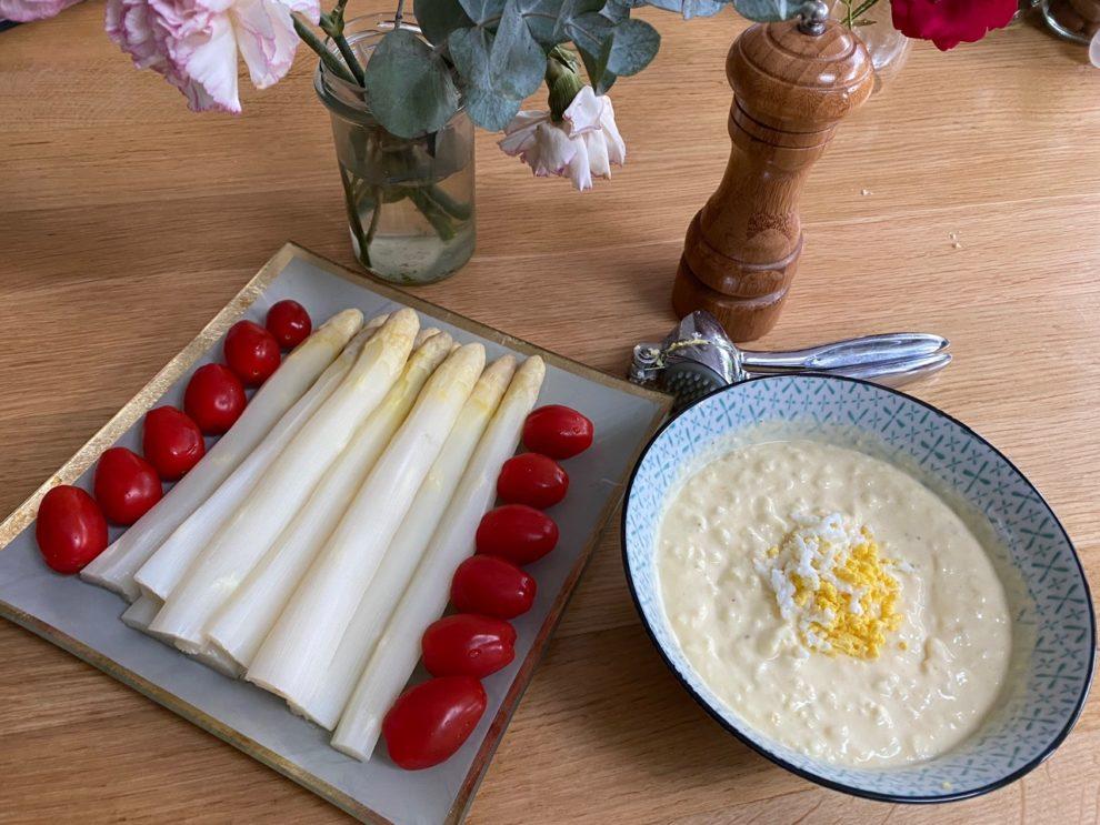 Asperges sauce a l oeuf_Recettes faciles rapides gourmandes pour maman pressee - Blog Ne le dites a personne