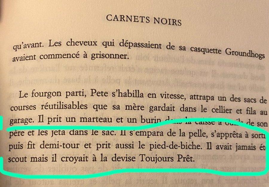 Stephen King Carnets Noirs Traduction des livres un véritable enjeu de littérature-blog autrice Virginie Delage #bloglivres #bloglittéraire #traductionlivres #blogécriture #blogueuselittéraire #nouvelauteur #autrice