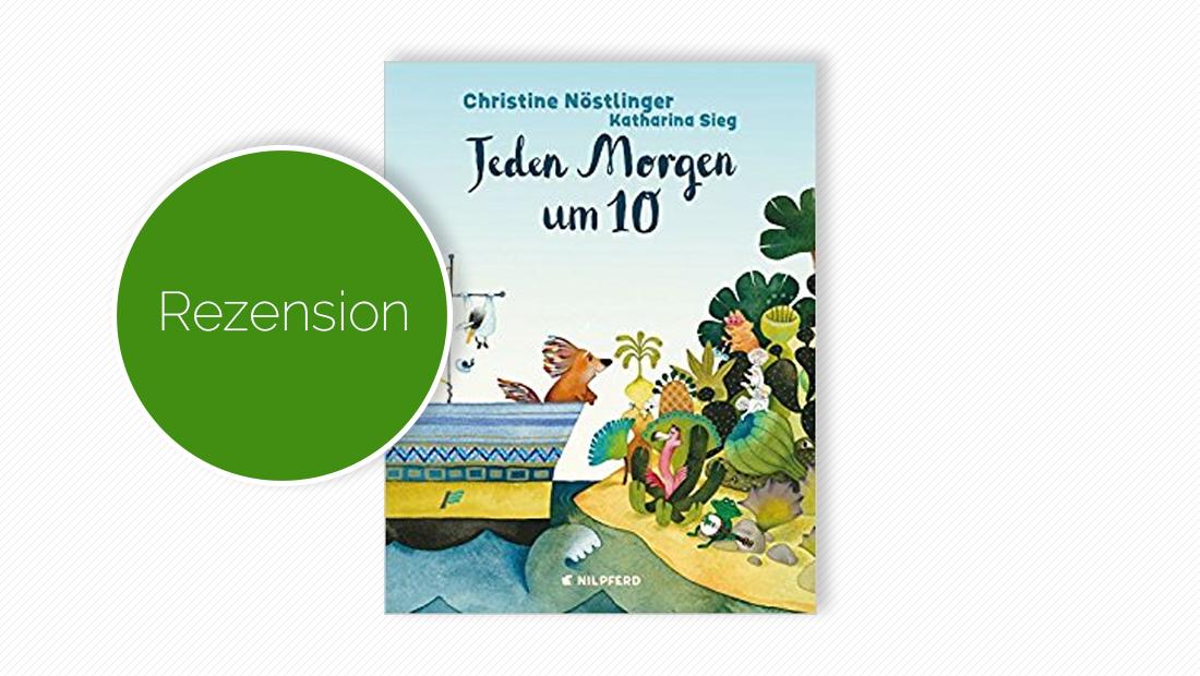 """Titelbild vom Buch """"Jeden Morgen um 10"""""""