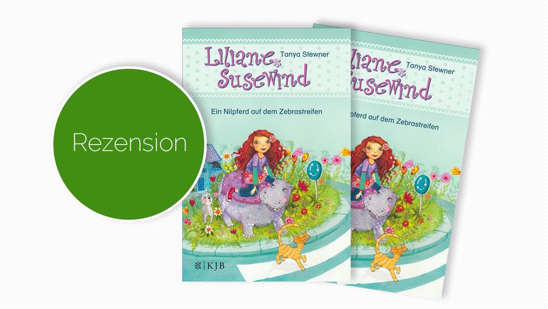 """Titelbild vom Buch """"Liliane Susewind - Ein Nilpferd auf dem Zebrastreifen"""""""