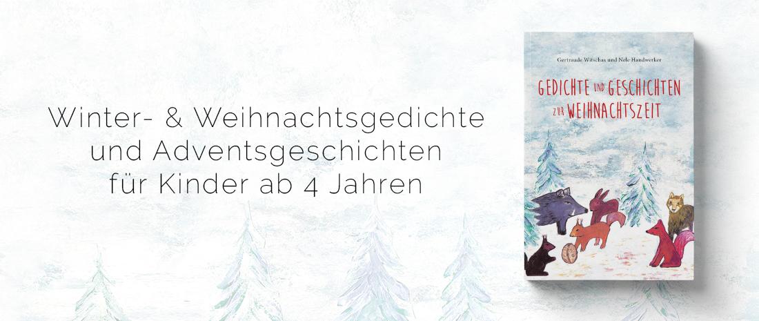 """Cover des Buches """"Gedichte und Geschichten zur Weihnachtszeit"""" von Nele Handwerker"""