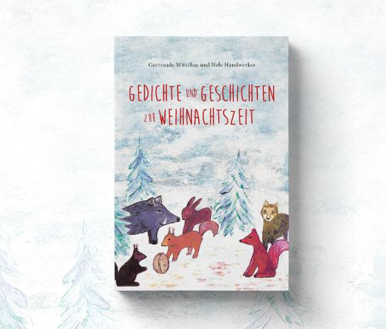 """Cover """"Weihnachtsbuch"""" von Gertraude Witschas und Nele Handwerker"""