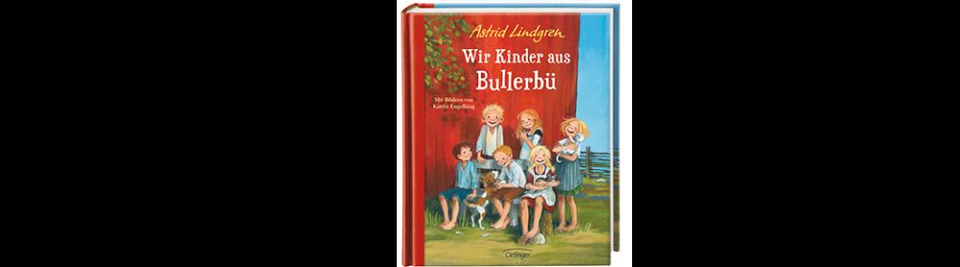 """Cover vom Buch """"Wir Kinder von Bullerbü"""" von Astrid Lindgren"""
