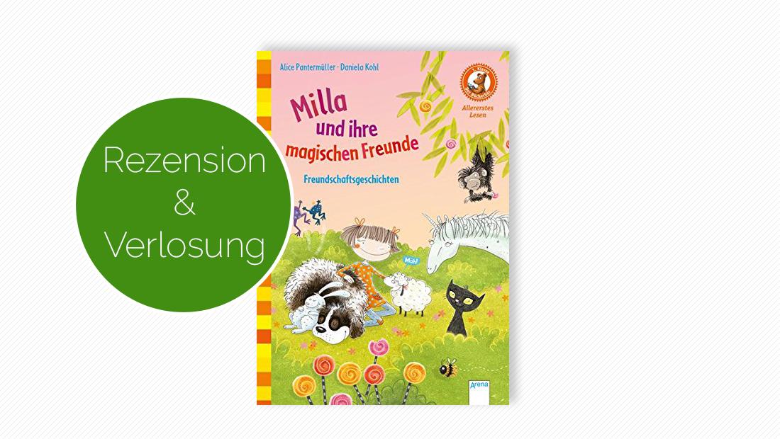 """Buchcover vom Erstlesebuch """"Milla und ihre magischen Freunde"""""""