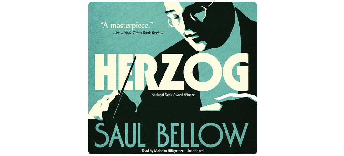 """Cover vom englischen Hörbuch """"Herzog"""" von Saul Bellow."""