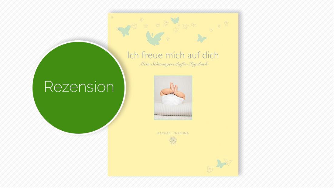 """Buchcover vom Tagebuch """"Ich freue mich auf dich – Mein Schwangerschafts-Tagebuch"""""""