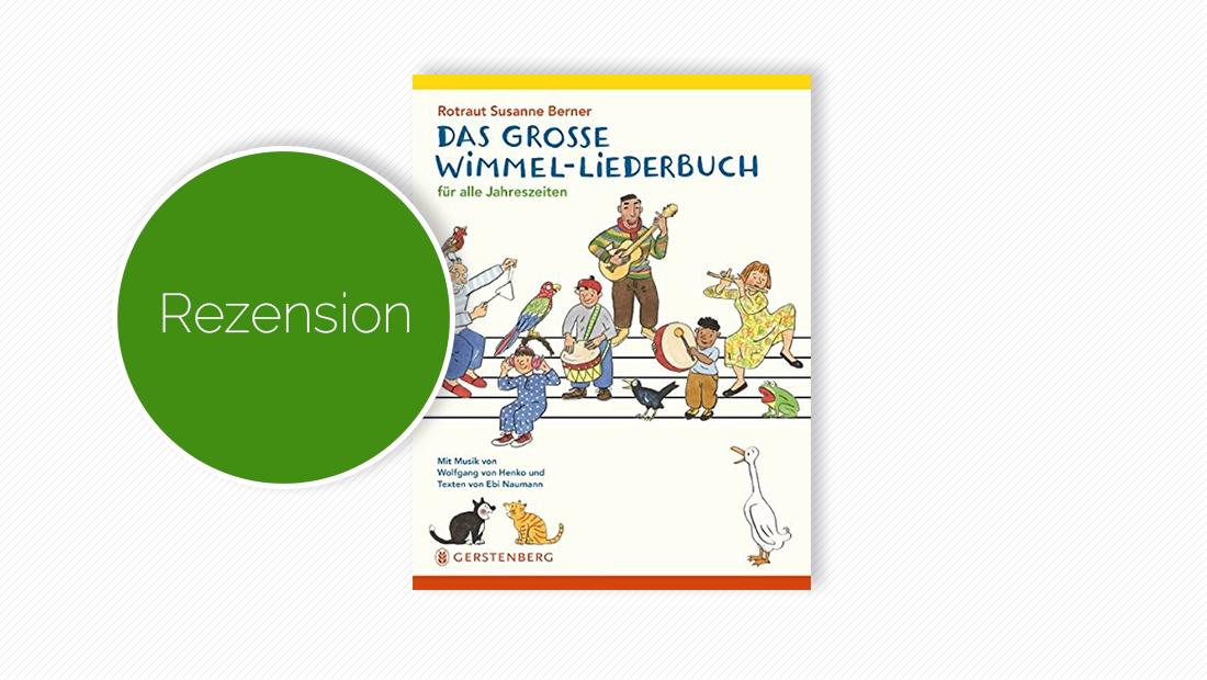 """Buchcover vom Wimmel-Liederbuch """"Das große Wimmel-Liederbuch"""""""