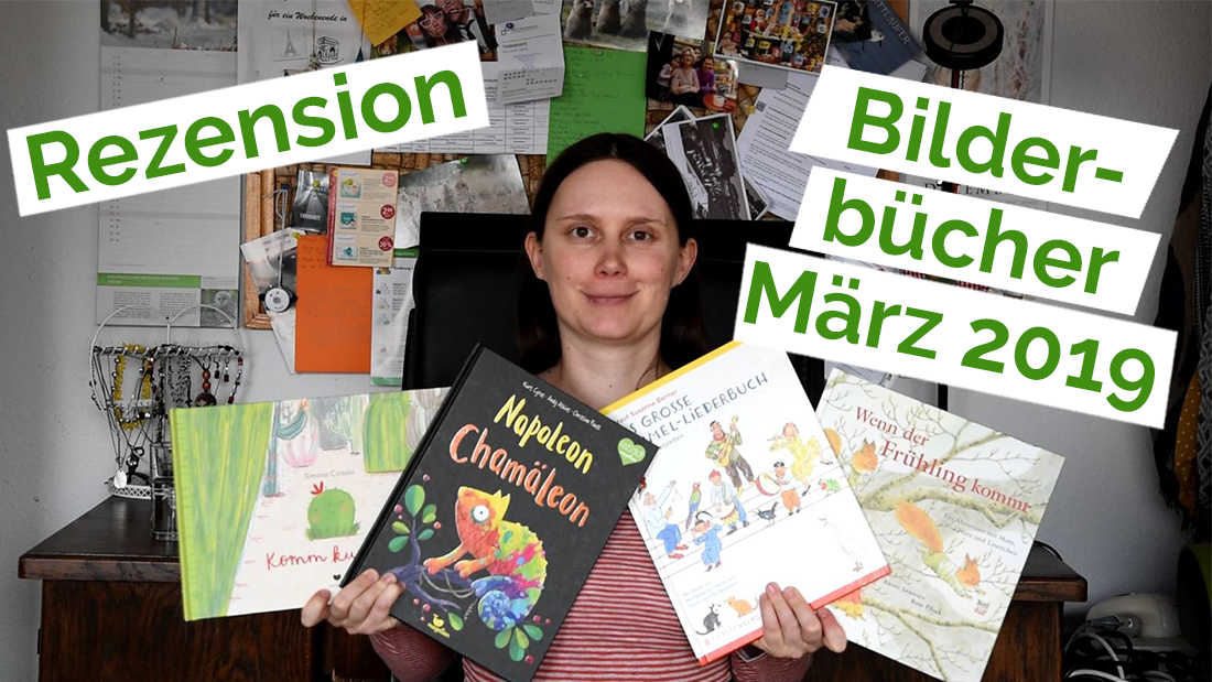 "Standbild aus dem YouTube Video ""Rezension 22 – Bilderbücher"""