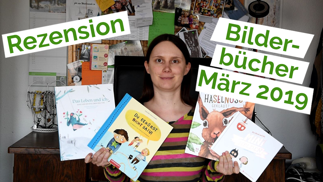 "Standbild aus dem YouTube Video ""Rezension 23 – Bilderbücher"""