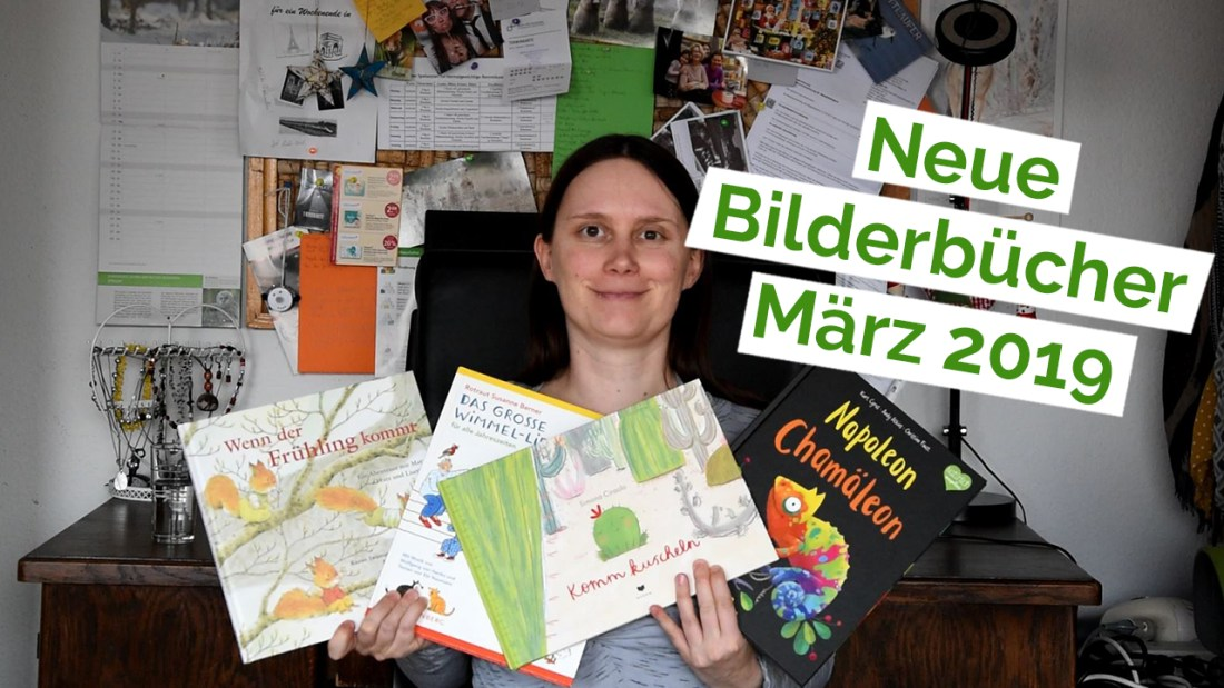 "Standbild aus dem YouTube Video ""Unboxing 17 – Bilderbücher"""
