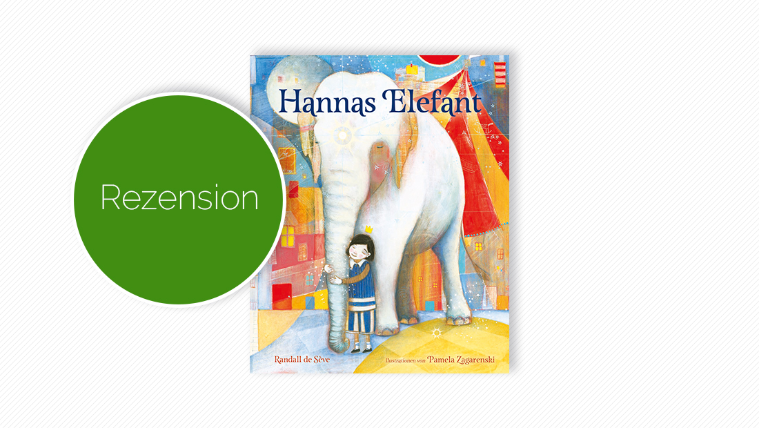 "Cover vom Bilderbuch ""Hannas Elefant"""