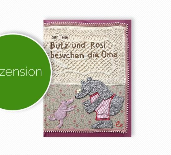 """Buchcover vom Pappbilderbuch """"Butz und Rosi besuchen die Oma"""""""