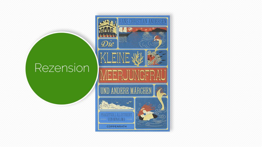 """Cover vom Märchenbuch """"Die kleine Meerjungfrau und andere Märchen"""""""