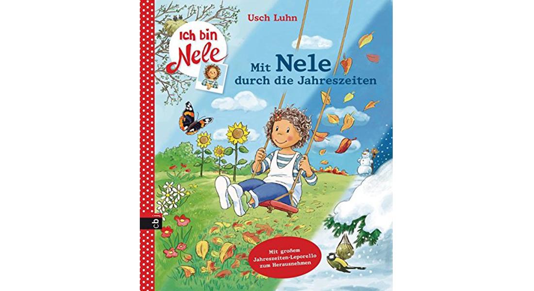 """Cover vom Bilderbuch """"Mit Nele durch die Jahreszeiten"""" von Usch Luhn"""