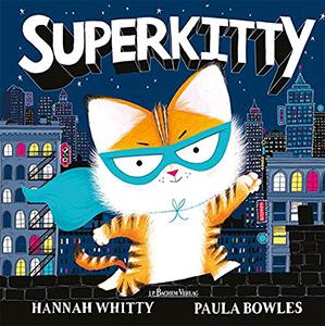 Cover vom Bilderbuch Superkitty