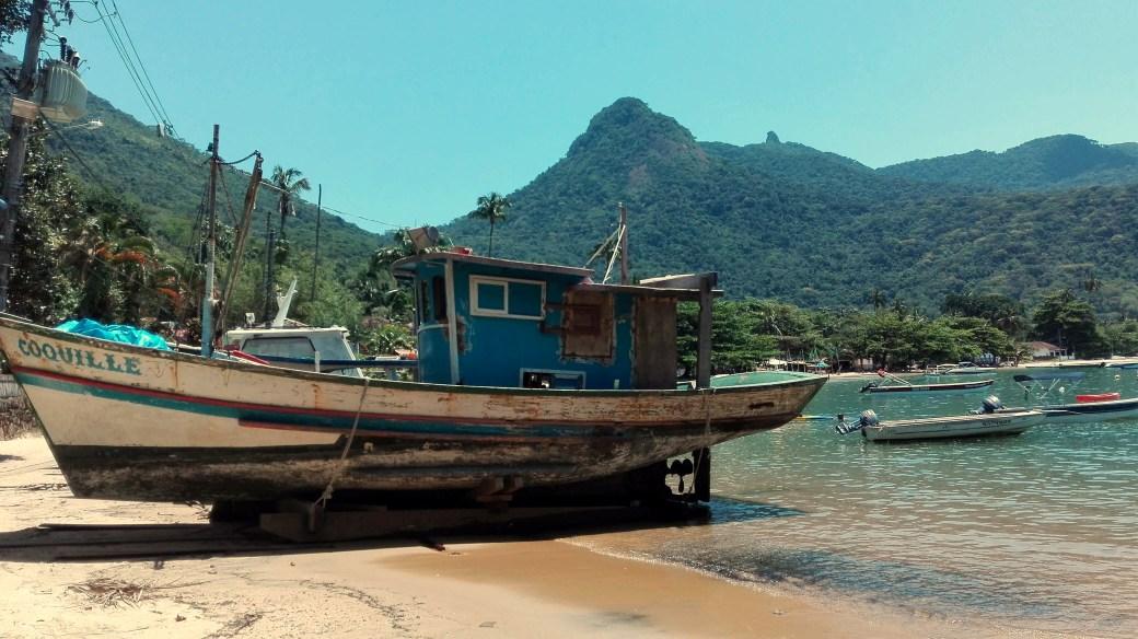 Schiff Ilha Grande Abbra Brasilien
