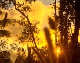 such sun set