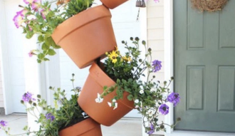 Potted Plants Stack
