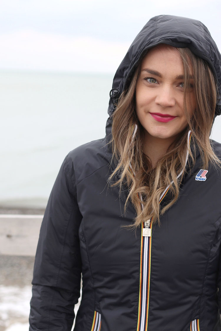 K-Way Lily Thermo Reversible Jacket