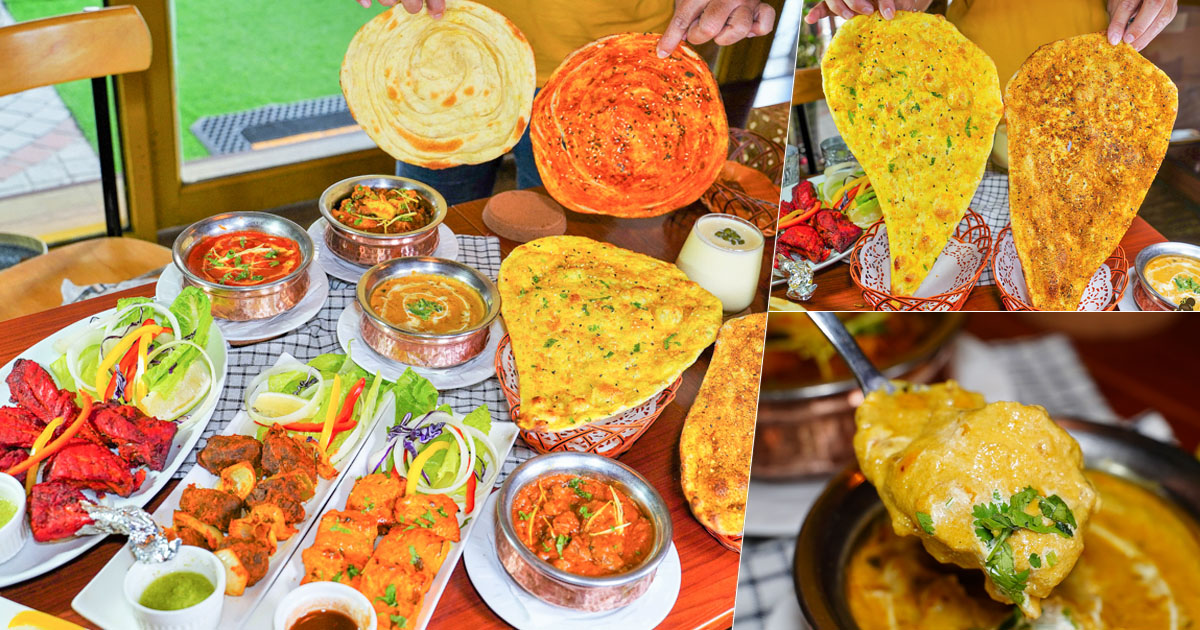 數十年星級主廚獨家印度特色料理、濃稠大塊肉咖哩 x 高雄巷弄必訪 都瓦哩印度廚坊酒館