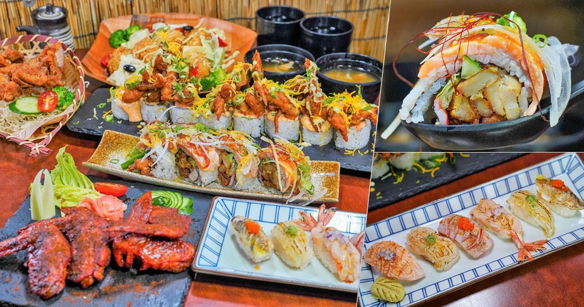 獨創霸氣加州壽司捲、澎派鮮味日本料理,高雄必吃 松本府手創日本料理、視覺味蕾都驚艷