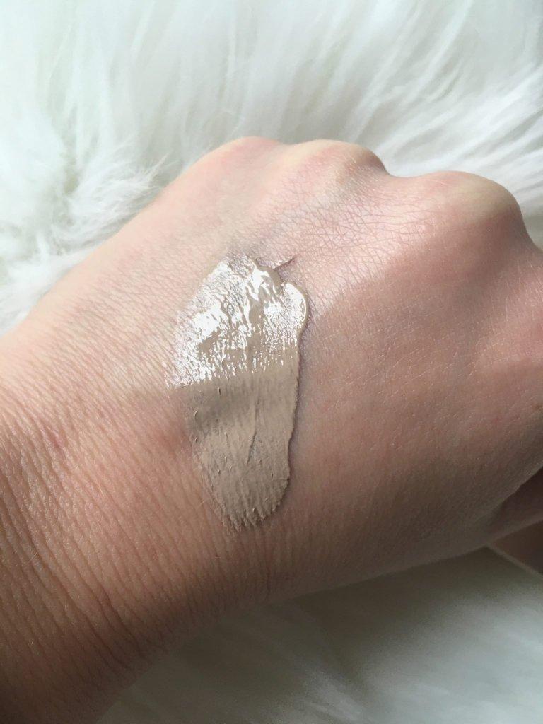 Texture della BB Cream Missha
