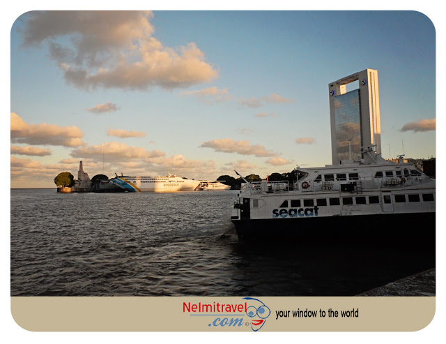 Ferry crossing over to Uruguay-Seacat