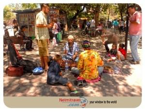 Street performers; Cordoba; Street Performers in Cordoba; Musicians in Cordoba; Musical Instruments used in Street performances.;