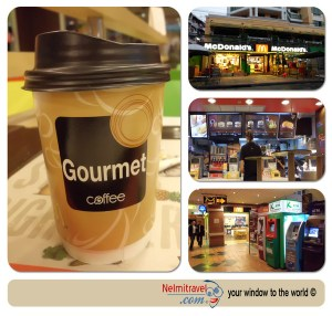 Coffee in Bangkok; Coffee Koasan Road; McDonald`s in Koasan Road;