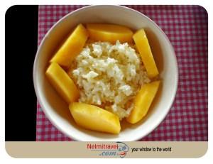 Sticky rice and Mango; Thai Sticky rice and Mango; Khao Niaow Ma Muang; Thai Dessert; Recipe Sticky Rice; Photo Sticky Rice and Mango; Rice Dessert; Rice and Milk; Thai Food