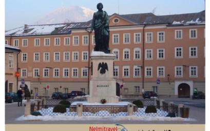 Mozartplatz,Mozart Monument,Salzburg;Salzburg Museum;зальцбург моцарт;Ludwig Schwanthaler